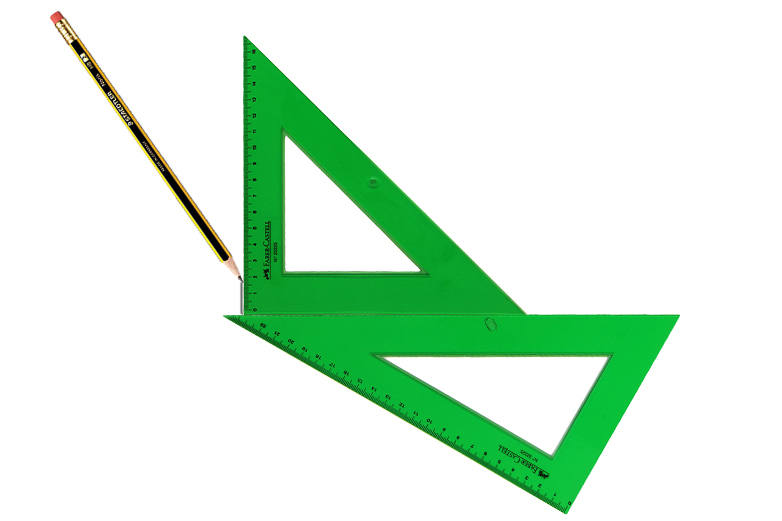 Trazar ángulos Perpendiculares Y Paralelas Con Escuadra Y Cartabón