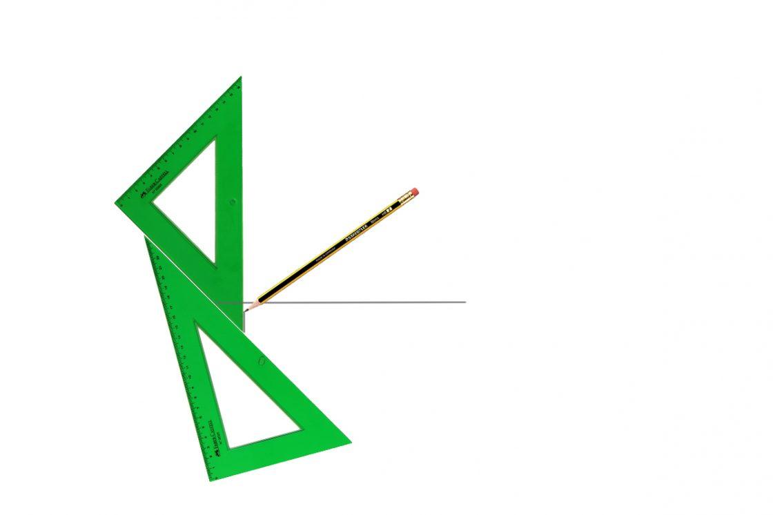 trazado de perpendiculares