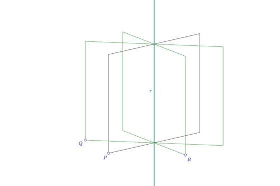 Haz de planos - Formas geometricas fundamentales
