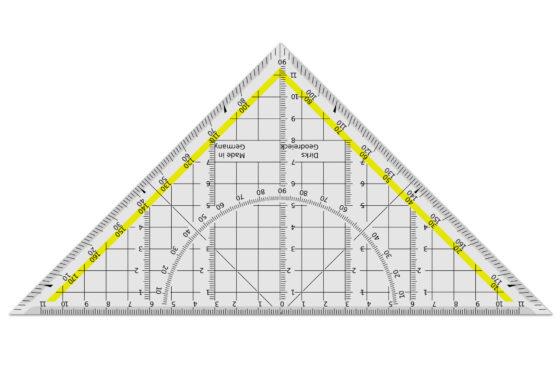 Triángulos, definición, propiedades, rectas y puntos notables