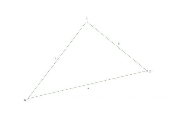Lados y ángulos del triángulo