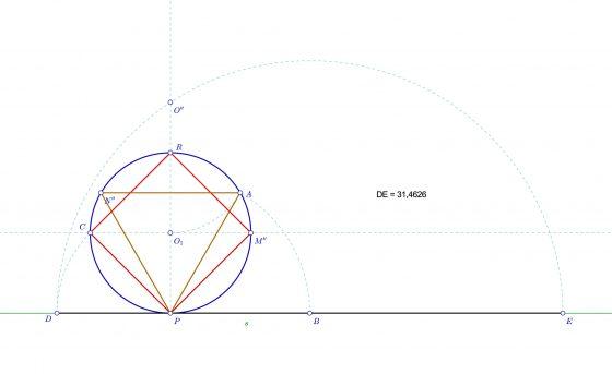 Longitud de una circunferencia por el método de los polígonos