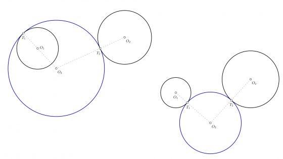 Problemas de tangencias y enlaces