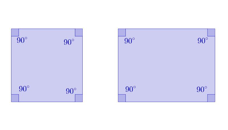 Polígonos equiángulos son aquellos que tienen todos sus lados iguales