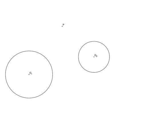 Problemas resueltos de circunferencias tangentes usando inversión