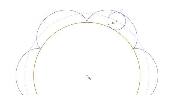 Epicicloide en dibujo técnico, propiedades y cómo trazarla