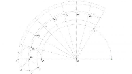 Tutorial para dibujar una epicicloide en dibujo técnico paso a paso