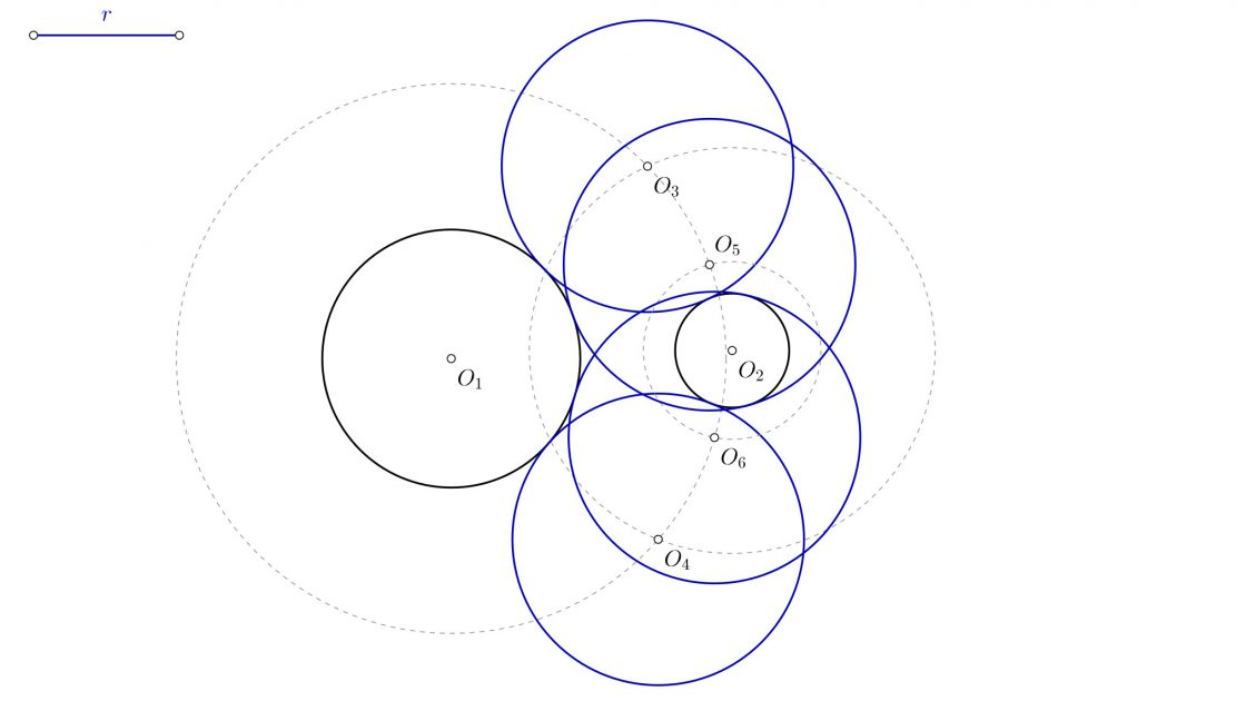 Como dibujar circunferencias tangentes (nivel básico)