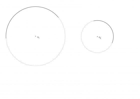 Ejercicios resueltos de enlaces de circunferencias y láminas para imprimir