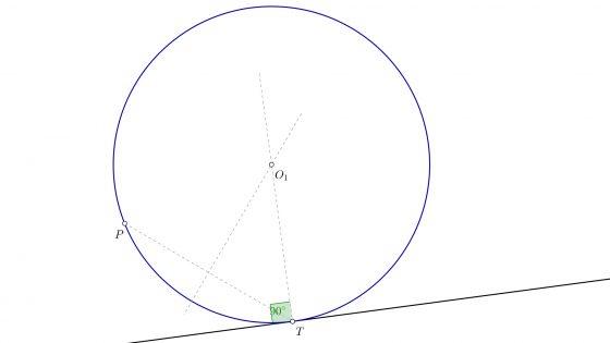 Problemas resueltos de circunferencias tangentes sin conocer el radio de la solución